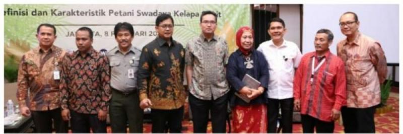 Hadiri Diskusi Nasional, Wabup Muba Lakukan Pemetaan Petani Sawit