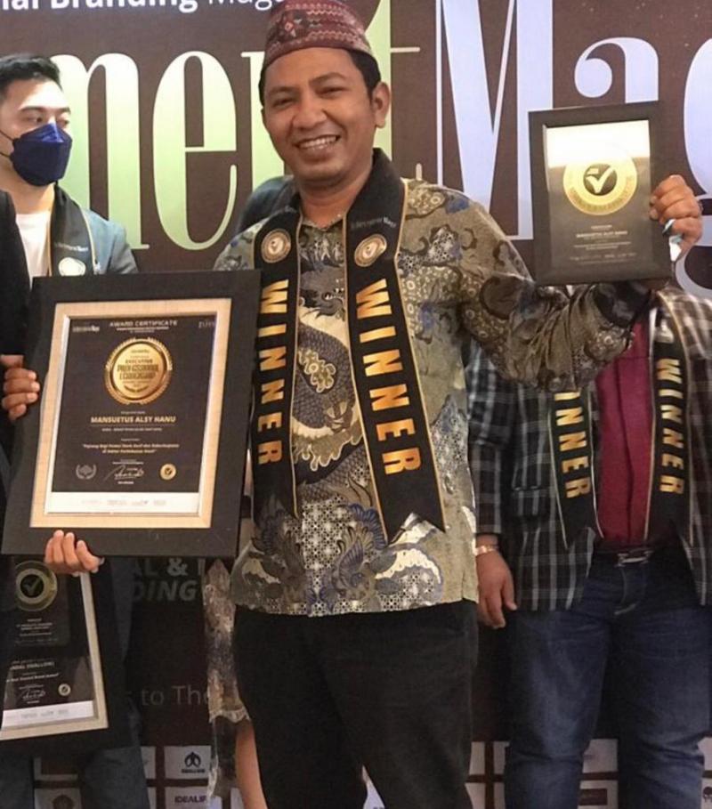 Sekjen SPKS Raih Leadership Award 2021