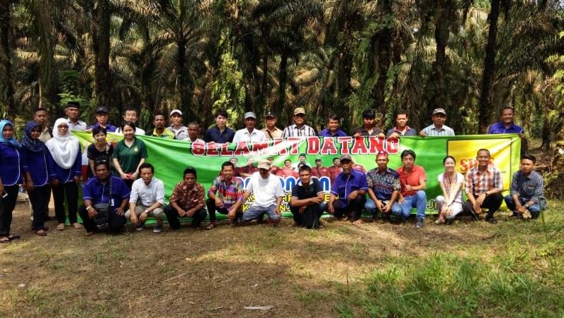 Sebanyak 15 Orang Perwakilan dari Perusahaan Jepang Bertemu dengan Petani Sawit Swadaya Binaan SPKS