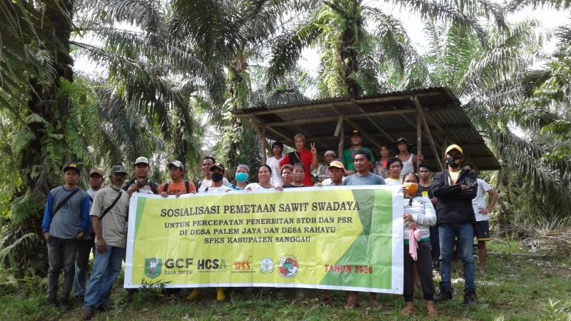 Dinas Perkebunan dan SPKS Lakukan Sosialisasi Bersama Pemetaan Petani Swadaya di Kabupaten Sanggau