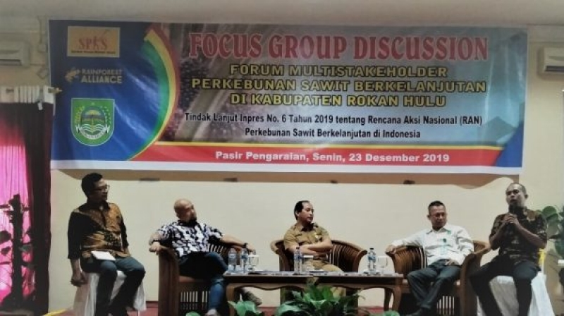 Samakan Visi Pengembangan Sawit, SPKS Rohul Gelar FGD